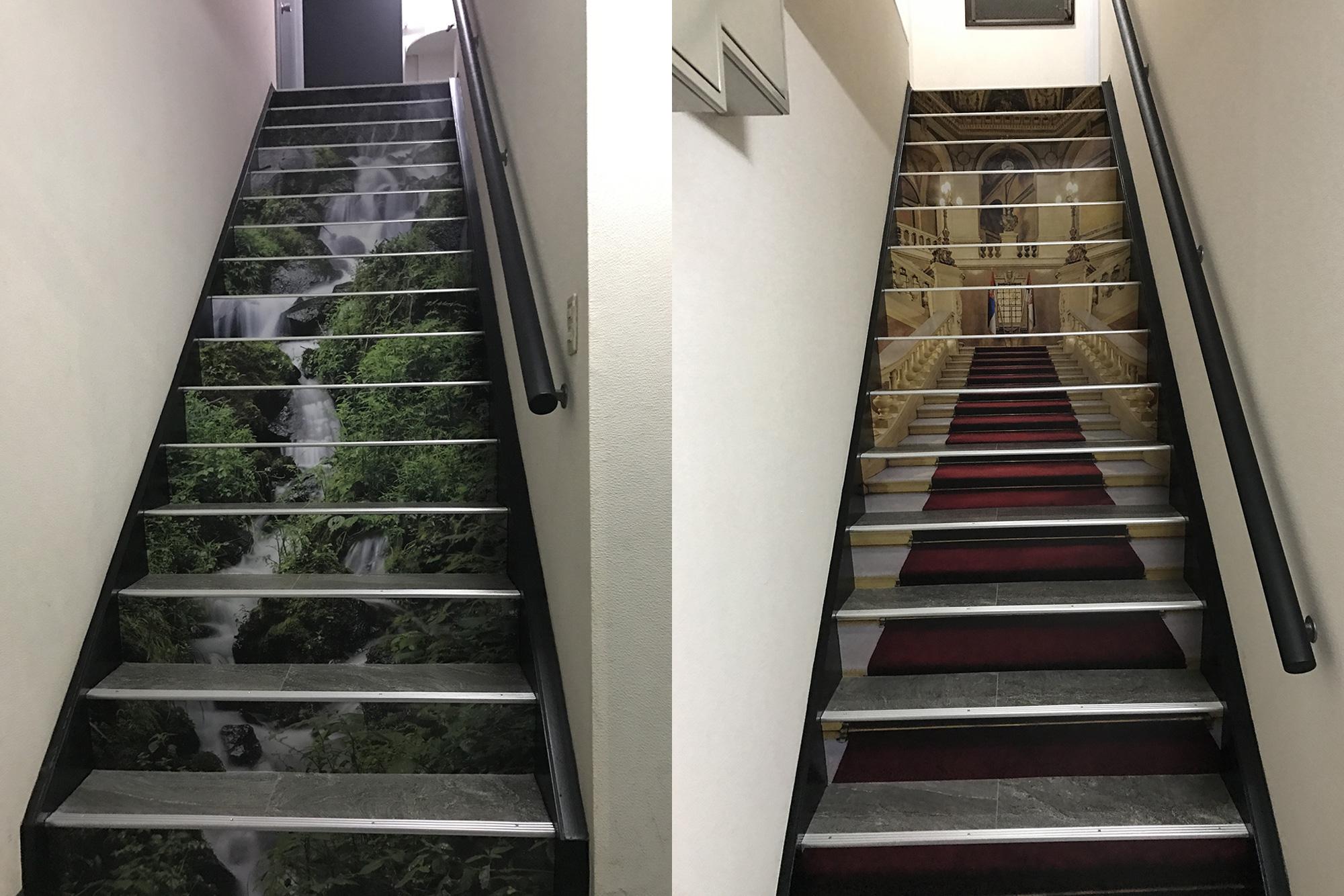 オフィス階段